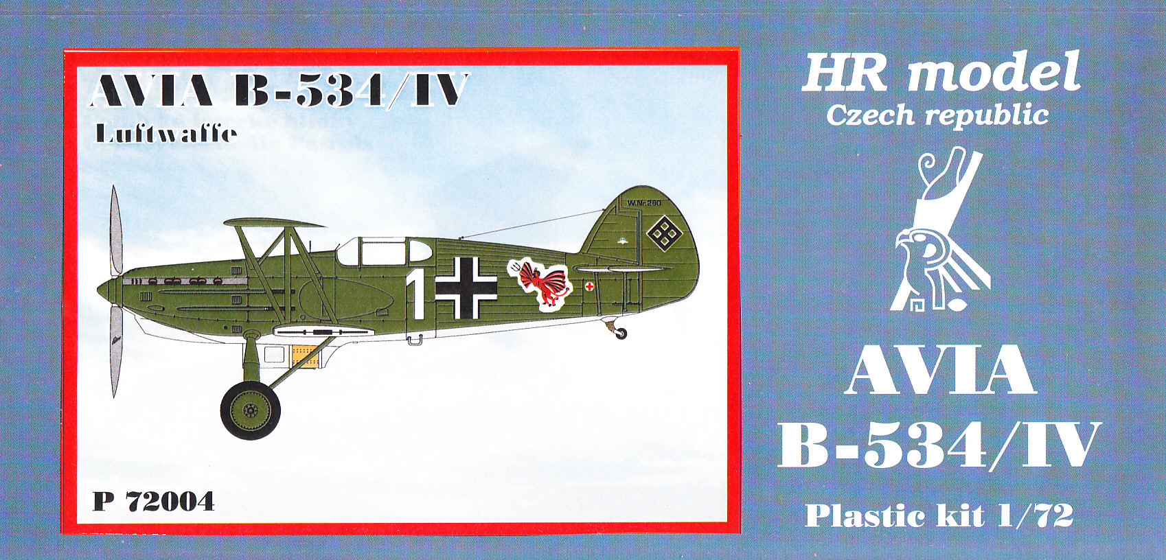 1 Hr Photo >> HR model Cz - Avia B 534 IV